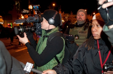 Police camera to capture and archive information about protesters