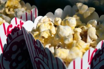 Popcorn in Piedmont Park