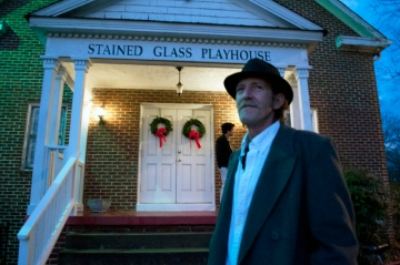Colin Garner and the Stained Glass House