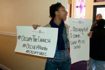 #occupythechurch #occupyatlanta #occupyhgec