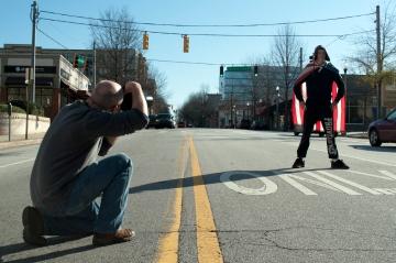 "Photoshoot by photographer Jerry Burns of Walkupier ""Kid"""