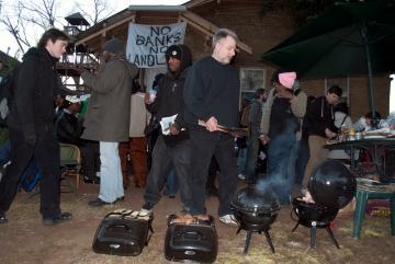 Bill, grill master