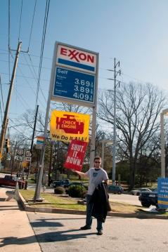 Daniel Hanley shutting down Exxon