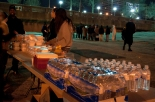 food surpluses for the homeless