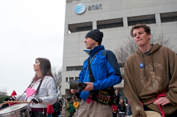 AT&T occupied