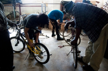 The SHIFT Community Bike Shop