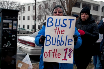 bust the 1 percent bubble