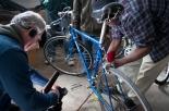 11News Cameraman Filming Bike Repair