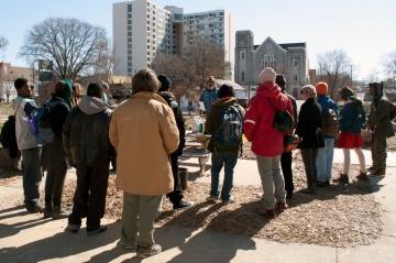 Urban Gardening Demonstration at Truely Living Well Gardens