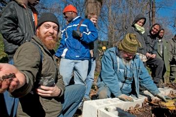 Matt Magnuson Holding Fertile Soil