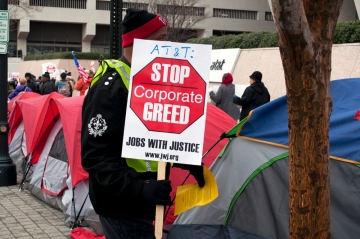 stop corporate greed