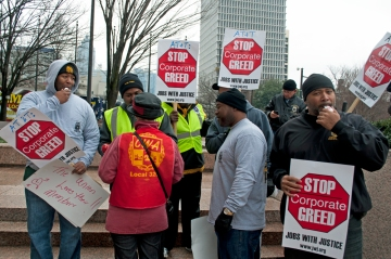 Teamsters want to stop corporate greed