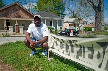 Dynta Jackson occupying Vine City