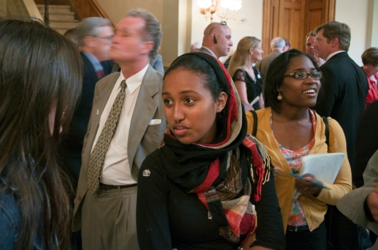 Leila Abadir from Occupy Atlanta
