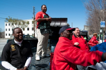 Teamsters and CWA members