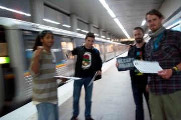 The MARTA Outreach team on March 10th