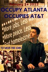 Occupy Atlanta Occupies AT*T